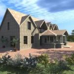 Suburban Dwelling Rear 1