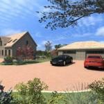 Suburban Dwelling Front 1