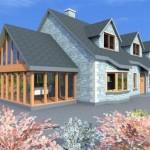 Rural Dwelling Side & Front