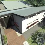 Cottage Extension Birdseye View